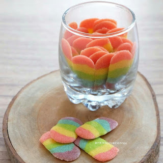 Ide Resep Membuat Lidah Kucing Rainbow Colourful