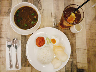 Beef Rawon with Rice