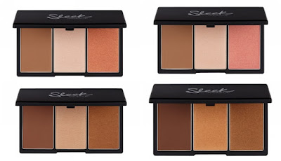 Sleek Face Form Contouring & Blush Palette in Fair