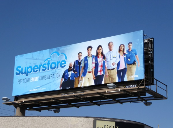 Superstore 2016 Emmy FYC billboard