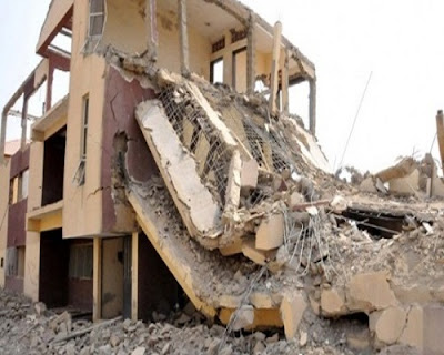 Another building collapses in Lagos (PHOTOS)