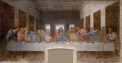 ダ・ヴィンチ、最後の晩餐、S・M・デッレ・グラツィエ教会