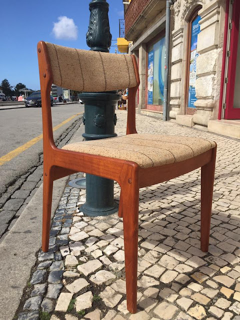 cadeiras, vintage, nórdicas, a Porta Verde