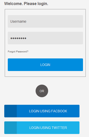 Be naughty login page