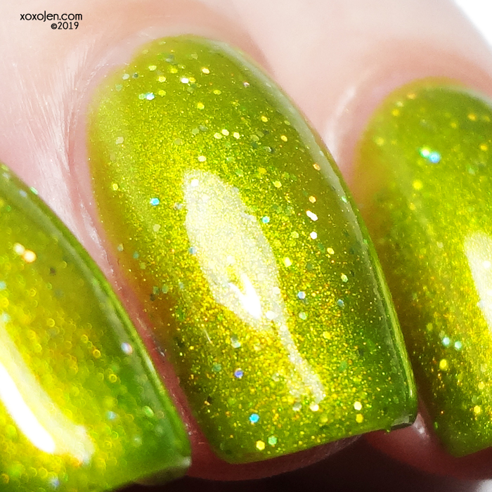 xoxoJen's swatch of Glam Polish Confusing Concoction