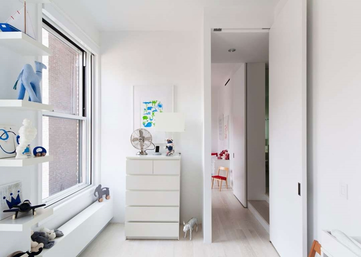 "Children's room in Modern New York Apartment by ""Resolution: 4 Architecture"""