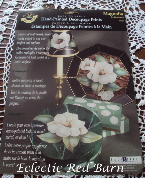 Decoupage prints - Magnolia