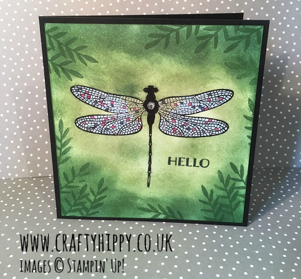 Dragonfly Dreams Card, Stampin' Up!