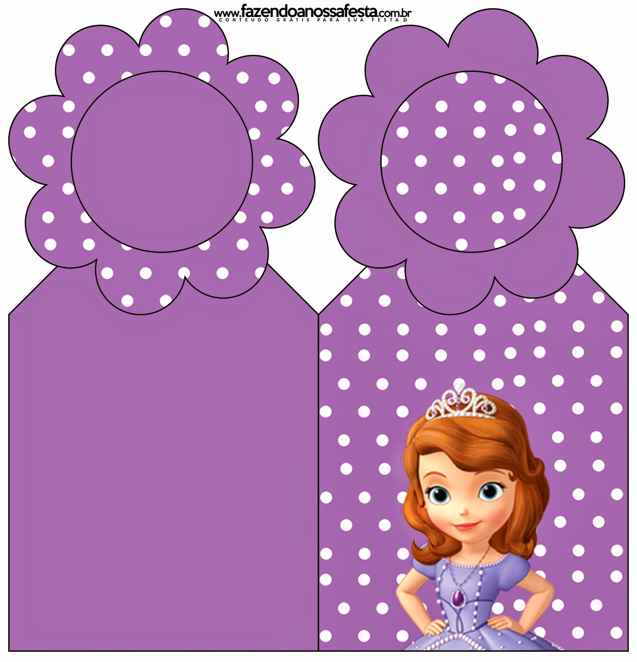 Sofia the First Free Party Printables and Images Oh My Fiesta