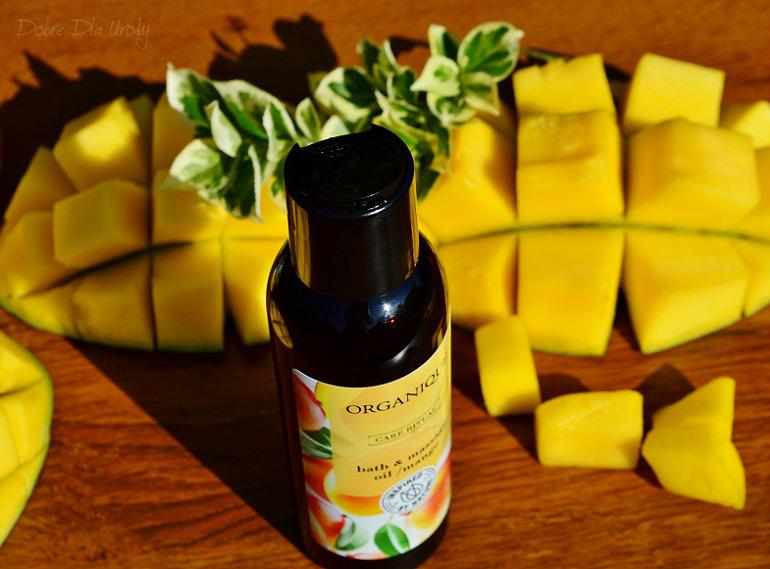 Rytuał Organique o zapachu słodkiego mango -  olej do masażu i kąpieli