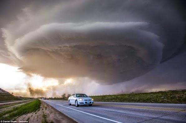 Supercell over Nebraska