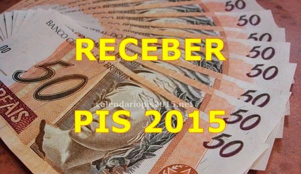 Como receber PIS 2015