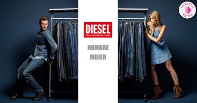Oferta Diesel de vaqueros y camisetas