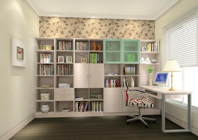 idées de décoration d'une salle d'étude