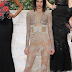 Kendall Jenner shows off her bum in see through dress (photos)