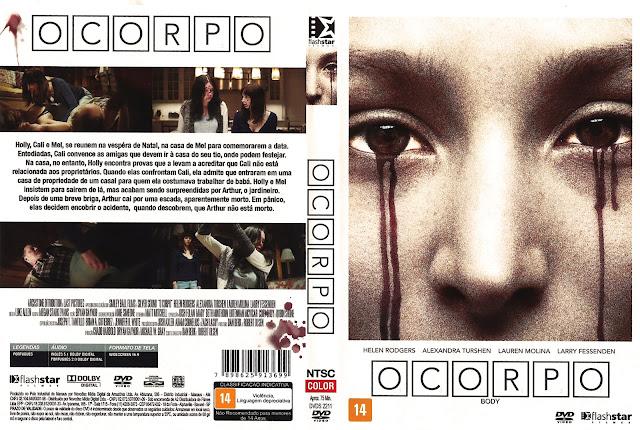 Capa DVD O Corpo (Oficial)