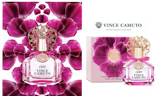 Abella's Beauty Blog: Vince Camuto Ciao - An unforgettable Fruity Floral Fragrance
