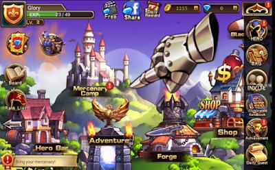 Brave Fighter 2 Legion Frontier MOD Full Unlocked Unlimited Money Free APK Premium Terbaru