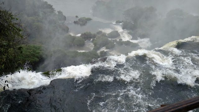 Iguazu falls- a view from the top