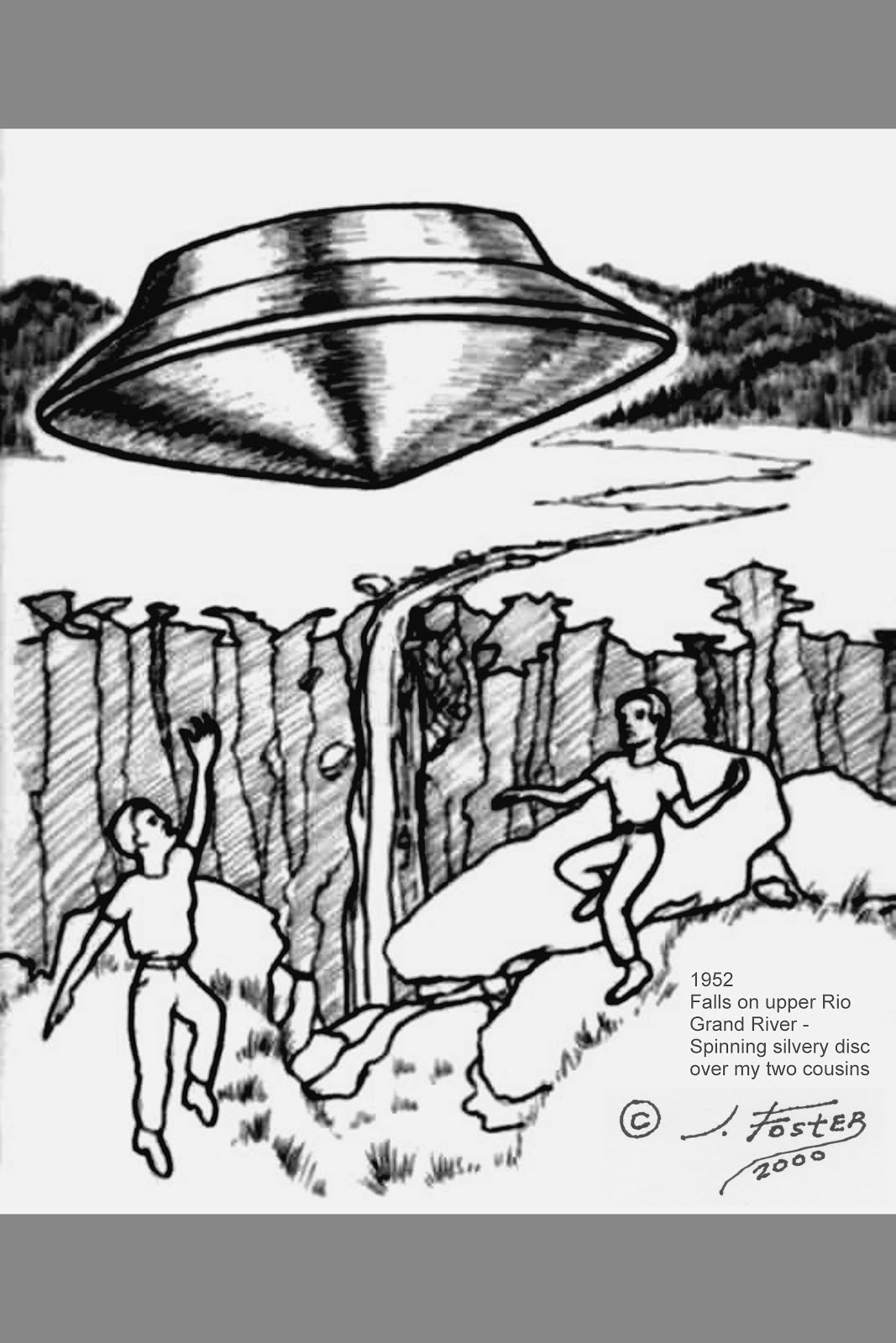ET, UFO, Alien Unknown