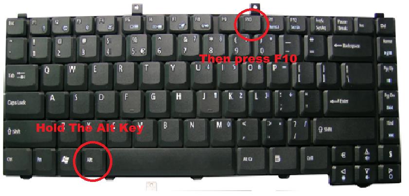 Homework Blog: How To Restore An Acer Aspire One Netbook ...
