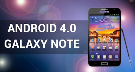 GALAXY NOTE CON ANDROID 4.0