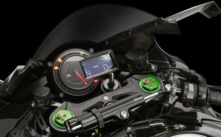 Kawasaki Nnja H2R Speedometer