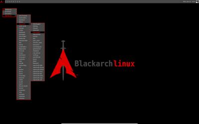 واجهة نسخة بلاك ارش لينكس