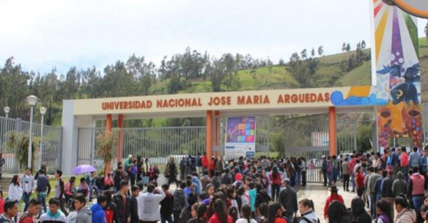UNAJMA: Cerca a 2 mil estudiantes participaron este domingo 11 del Examen de Admisión Ordinario 2018-I a la Universidad Nacional Jose María Arguedas - www.unajma.edu.pe