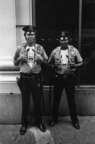 Street Cops New York 1978 1981 By Jill Freeman