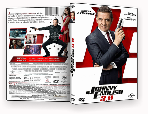 CAPA DVD – Johnny English CINEMA 2018 – ISO