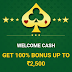 Play Online Rummy & Earn Real Cash, Register & Get 100% Cashback On Your First Deposit