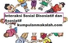 Interaksi Sosial Disosiatif dan Asosiatif