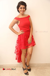 Actress Yamini Bhaskar Latest Pictures in Red Dress at 100 Days of Love Movie Audio Launch  0163.JPG