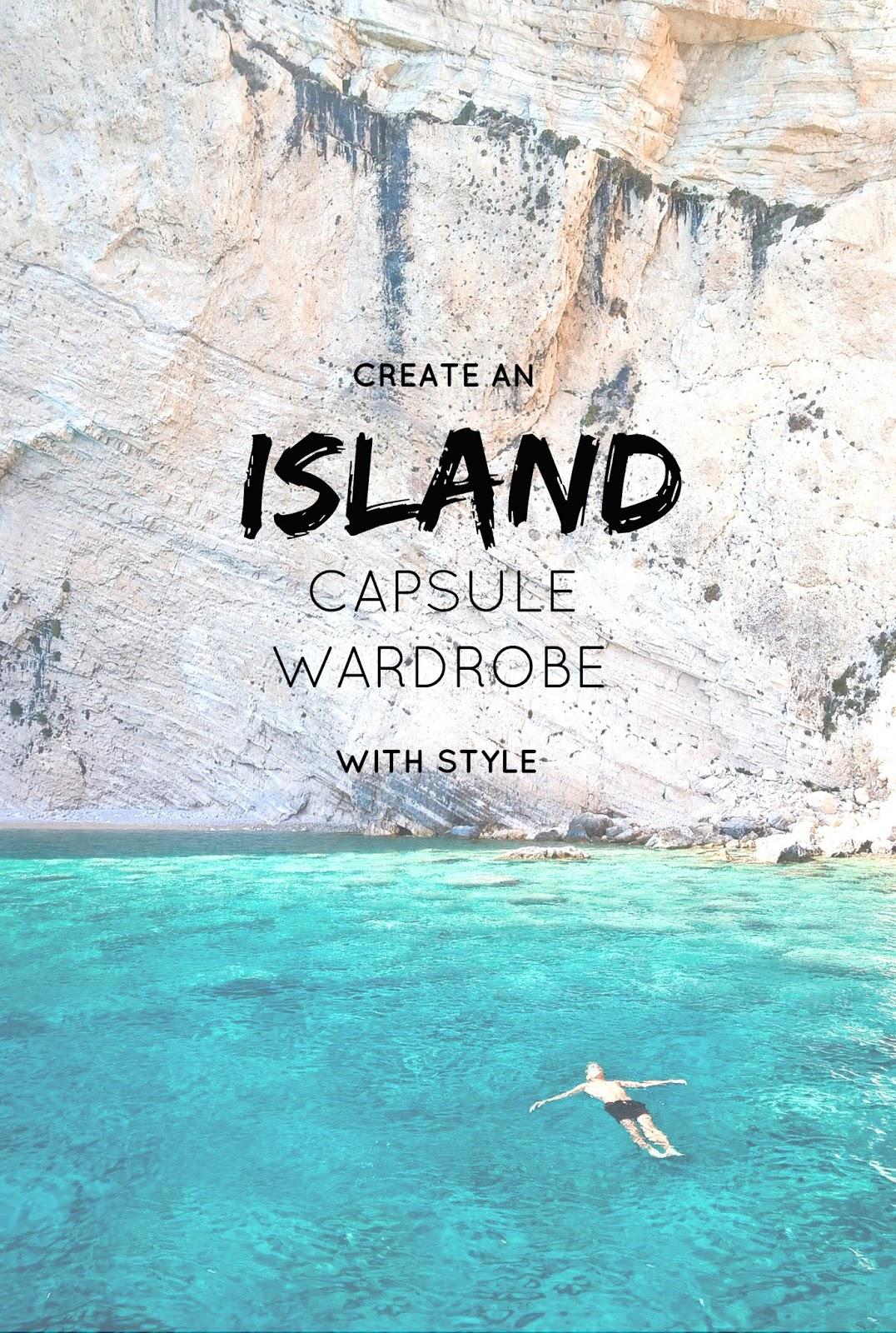 create a holiday capsule wardrobe, island, fashion, style, lyst