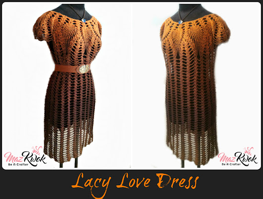 Lacy Love Dress - free crochet pattern