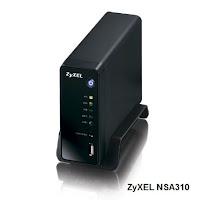 ZyXEL NSA310 1-Bay Media Server