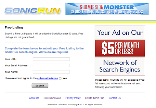 Add Url to SonicRun