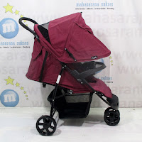 Kereta Bayi Hugo RC2030 Starlight 3-Wheeler Purple