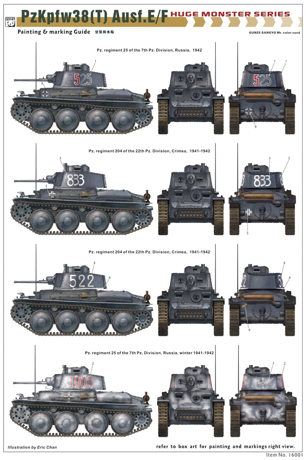 The Modelling News: 1/16th Panzer 38(t) from PandaHobby ...  The Modelling N...