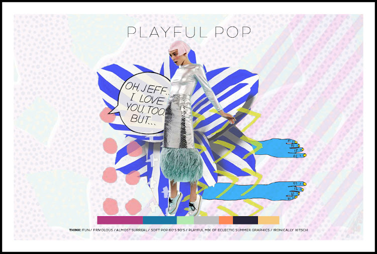 DESIGN COMPETITION // FRONT ROW SOCIETY - PLAYFUL POP