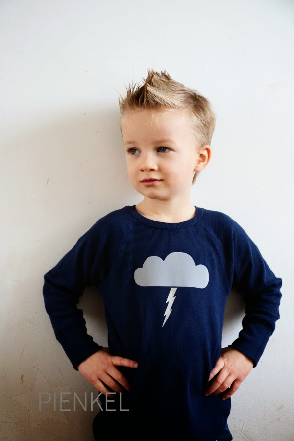 Recess Raglan with thundercloud decoration - Pienkel.com