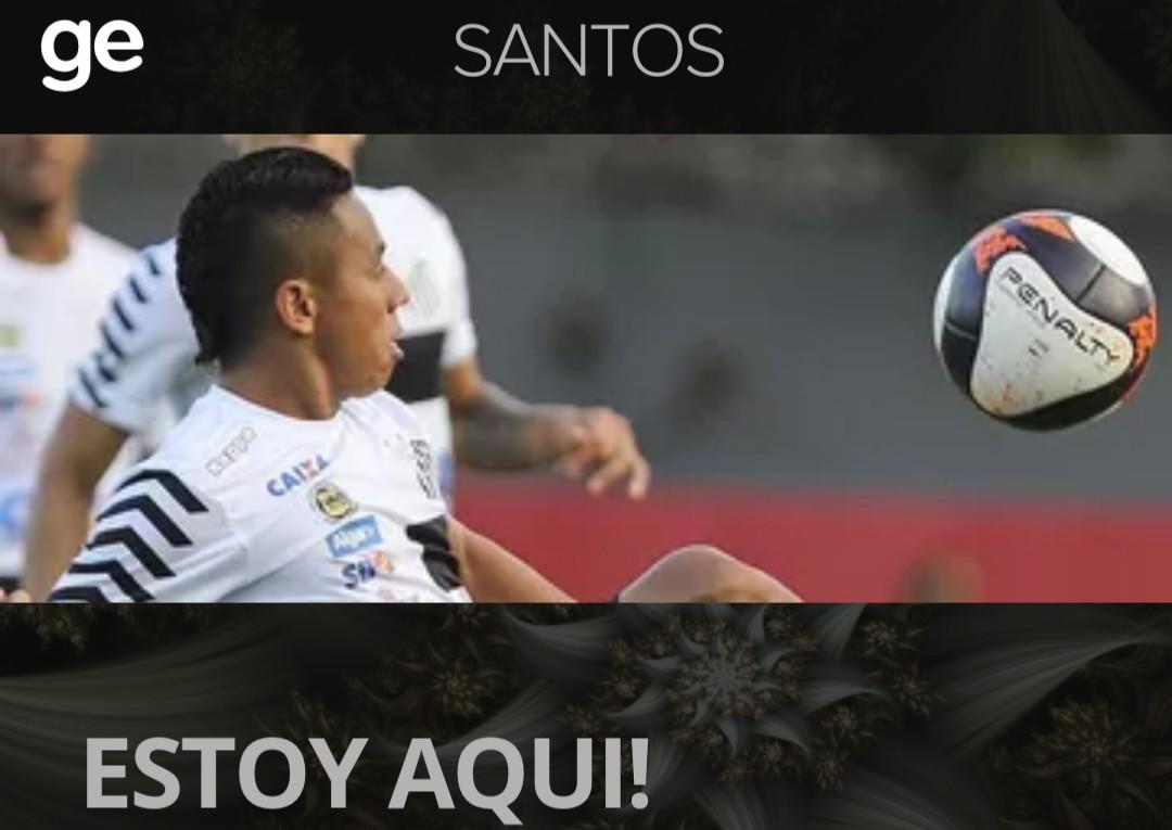 23a8c0a3e7 Colombiano diz que pode jogar em qualquer posição do ataque e se coloca à  disposição de Dorival. Contra o Paysandu