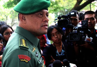 Jenderal TNI Gatot Nurmantyo terkait penyanderaan WNI oleh Abu sayyaf