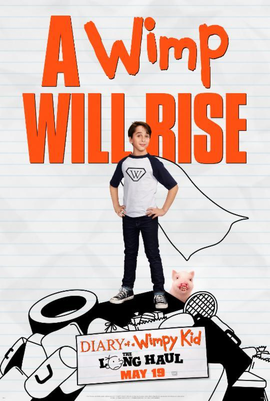 8664b7b0 Diary of a Wimpy Kid: The Long Haul