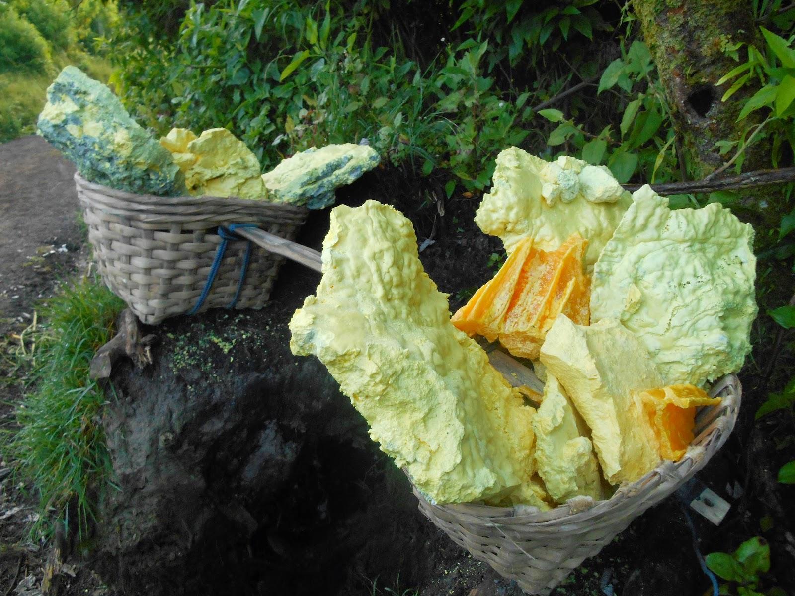 ijen coral sulfur