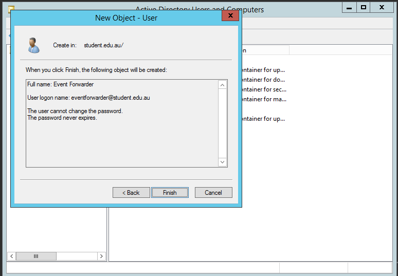 how to configure vent viewer to send logs to server