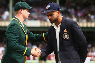 Virat Kohli and Steve Smith play 4 Test Match Series