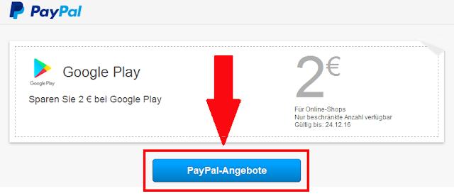 أحصل على مبلغ 2€ دون فعل أي شيئ بضغطة زر واحدة على حسابك في Paypal