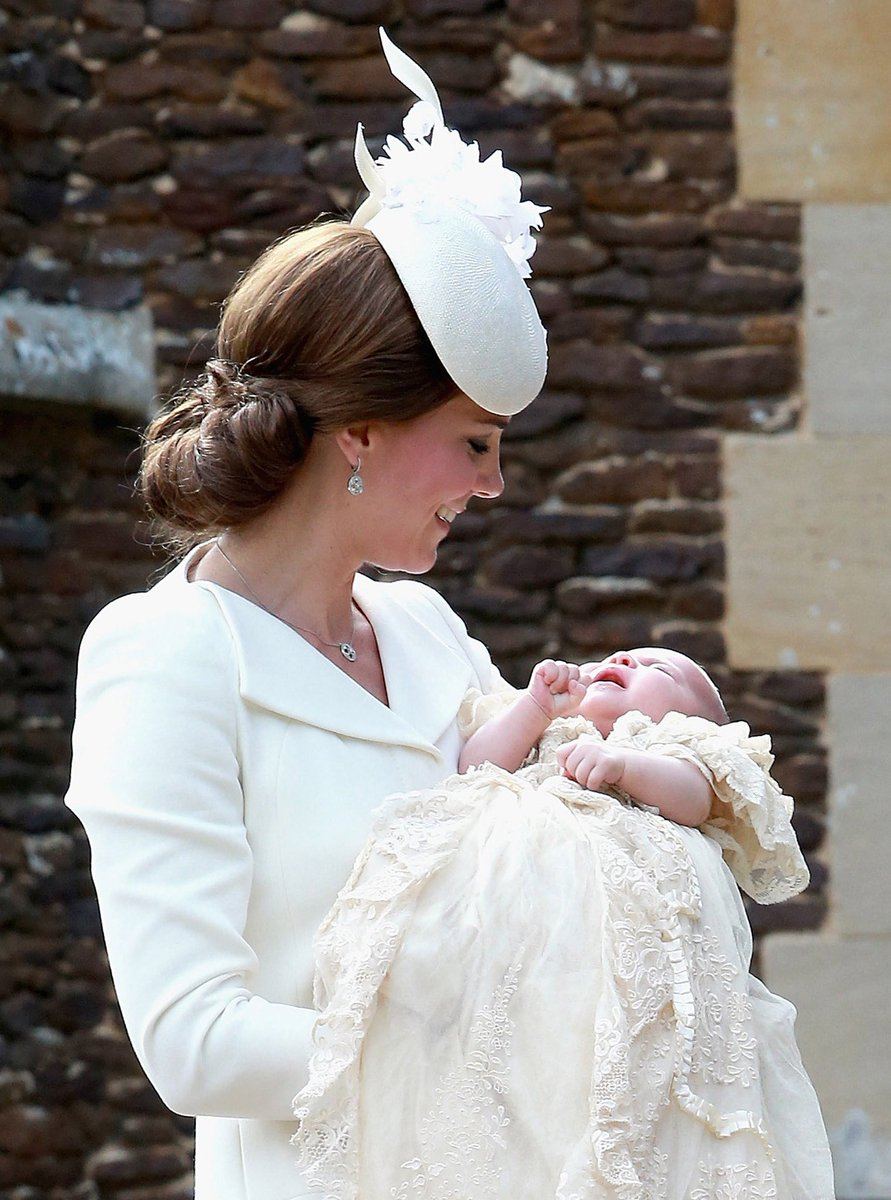 Christening of Kate and William's third child Prince Louis